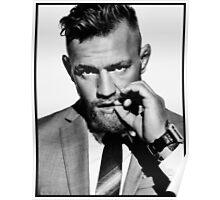 Conor McGregor b/w Poster