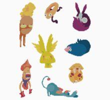 Cutie Monsters, part 2 by hoodsandhats