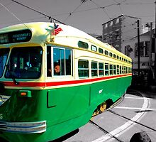 All Aboard the Jolly Green Trolly by 10Ringphotos