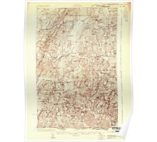 USGS Topo Map  Vermont VT Franklin Pond 337797 1922 48000 Poster