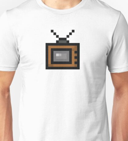 Television Pixel Icon Unisex T-Shirt
