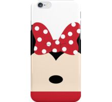 Minnie Red Bow iPhone Case/Skin