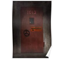 X-Files Krycek missile silo Poster