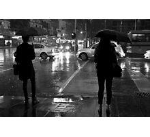 Night crossing Photographic Print
