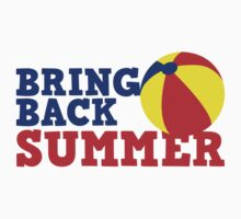 BRING BACK SUMMER! with beach ball by jazzydevil