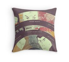 Looper (Variant Poster) Throw Pillow