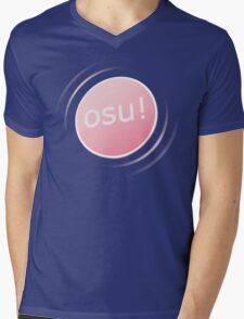 Osu! Mens V-Neck T-Shirt