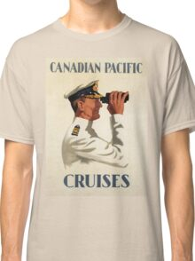 Vintage poster - Canadian Pacific Cruises Classic T-Shirt