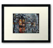 November Walk Framed Print