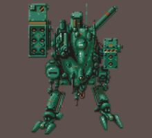 Metal Gear D sprite by timnock
