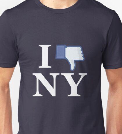 I Unlike NY - I Love NY - New York Unisex T-Shirt