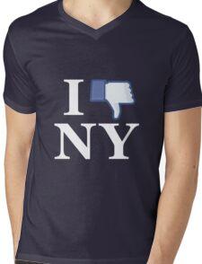 I Unlike NY - I Love NY - New York Mens V-Neck T-Shirt