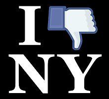 I Unlike NY - I Love NY - New York by SKpixel