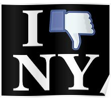 I Unlike NY - I Love NY - New York Poster