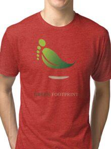Green FootPrint Tri-blend T-Shirt