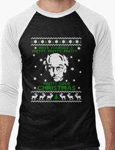 LARRY DAVID PRETTY GOOD CHRISTMAS UGLY SWEATER Men's Baseball ¾ T-Shirt