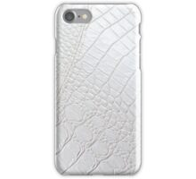 White Leather - iPhone Case iPhone Case/Skin