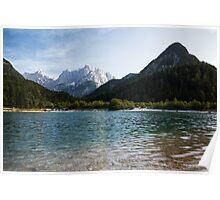 Lake Jasna in Kranjska Gora Poster