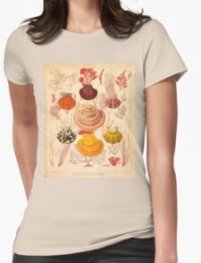 Marine Plants & Shells 1  Womens Fitted T-Shirt