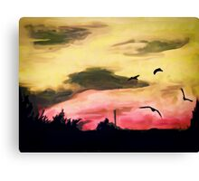 Whistle down the winds II Canvas Print