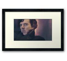 Sherlock Holmes. Framed Print