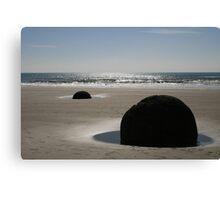 New Zealand's Moeraki Boulders Canvas Print