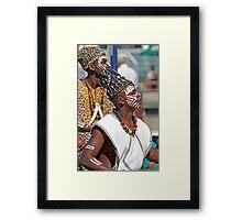 Cape Town Dancers Framed Print