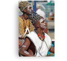 Cape Town Dancers Canvas Print