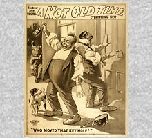 Vintage poster - A Hot Old Time Unisex T-Shirt