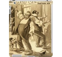 Vintage poster - A Hot Old Time iPad Case/Skin