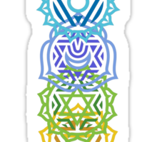 Your Inner Chakras Sticker