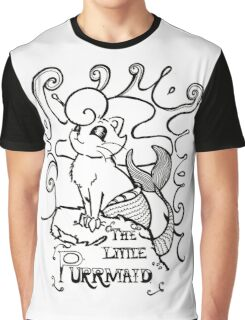 The Little Purrmaid Graphic T-Shirt