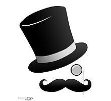 BlackTop Images Fancy man logo Photographic Print