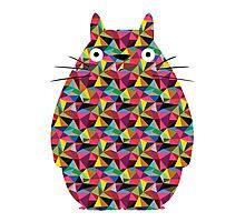 Mosaic Totoro Photographic Print