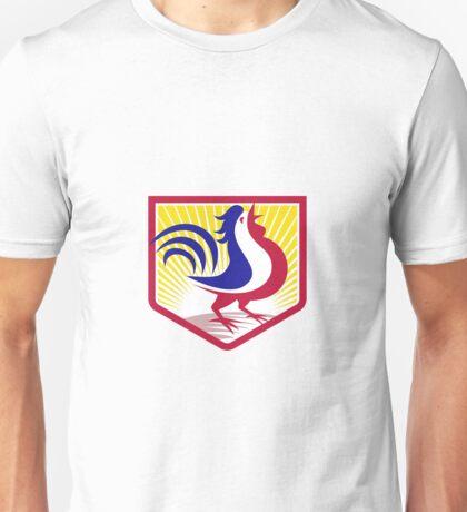 Rooster Cockerel Crowing Crest Unisex T-Shirt