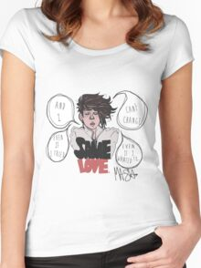 SAME LOVE Women's Fitted Scoop T-Shirt