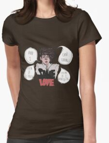 SAME LOVE Womens Fitted T-Shirt