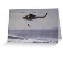 Newcastle & Westpac Helicopter Greeting Card