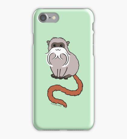 Emperor Tamarin iPhone Case/Skin