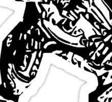 Arbiter Halo t shirt Sticker
