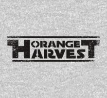 ORANGE HARVEST (DISTRESSED) One Piece - Short Sleeve