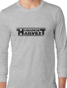 ORANGE HARVEST (DISTRESSED) Long Sleeve T-Shirt