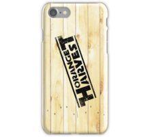 ORANGE HARVEST (DISTRESSED) iPhone Case/Skin