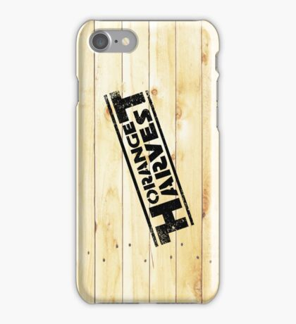 ORANGE HARVEST (DISTRESSED) iPhone Case/Skin
