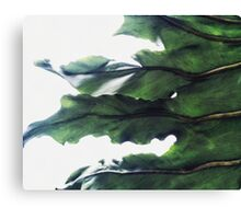 it's a green world Canvas Print