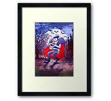 Dracula is Desperately Hungry Framed Print