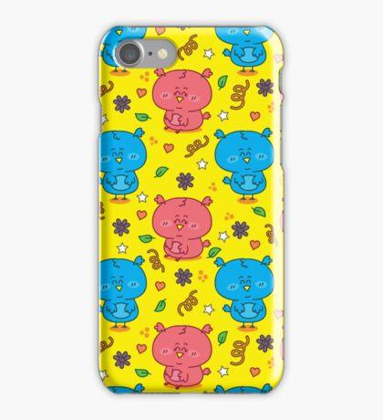 cute colorful owls iPhone Case/Skin