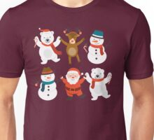 Dancing in the Christmas Unisex T-Shirt