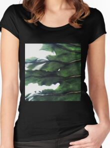 it's a green world Women's Fitted Scoop T-Shirt