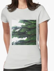it's a green world Womens Fitted T-Shirt